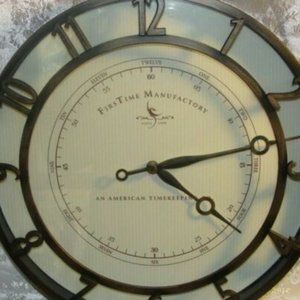 3 items for $10 Wall Clock EUC Working